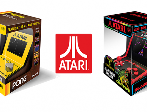 Two New Atari® Mini Arcades Featuring 5 classic Atari games announced for September 2019