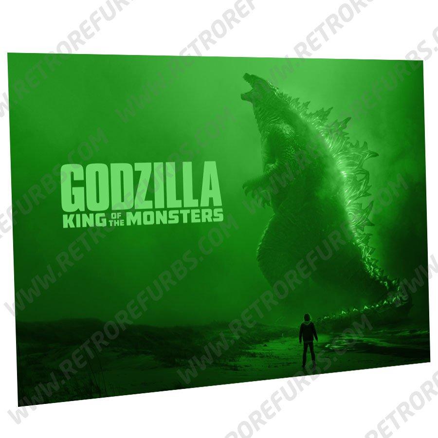 Godzilla 2019 Alternate Pinball Translite Alternative Flipper Backglass