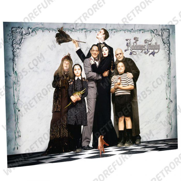 The Addams Family Light Alternate Pinball Translite Alternative Flipper Backglass