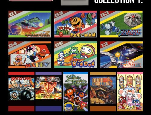Evercade Announce NAMCO and 2 More Cartridges