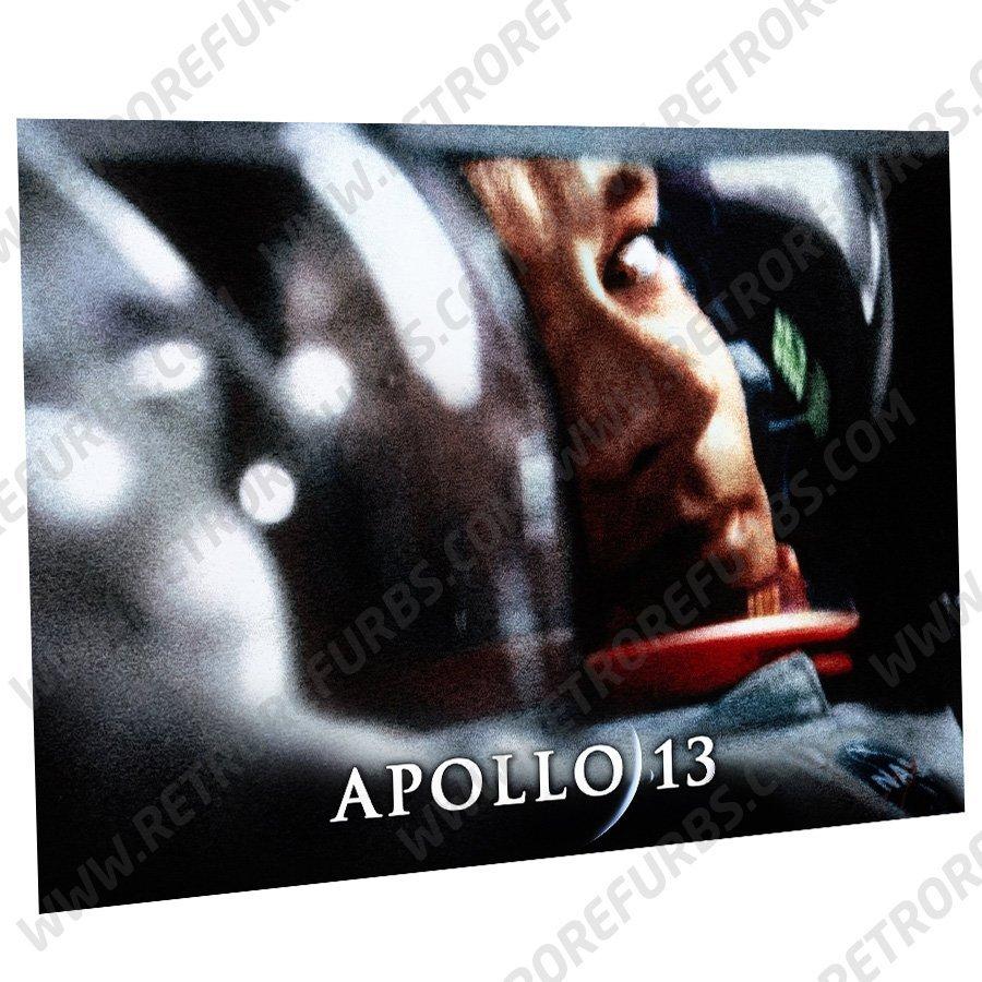 Apollo 13 Hanks Alternate Pinball Translite Alternative Flipper Backglass