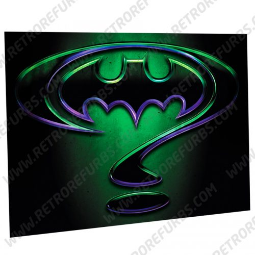 Batman Forever Enigma Alternate Pinball Translite Alternative Flipper Backglass