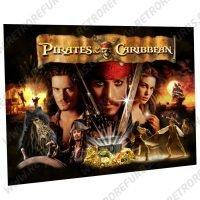 Pirates of the Caribbean Alternate Pinball Translite Alternative Flipper Backglass