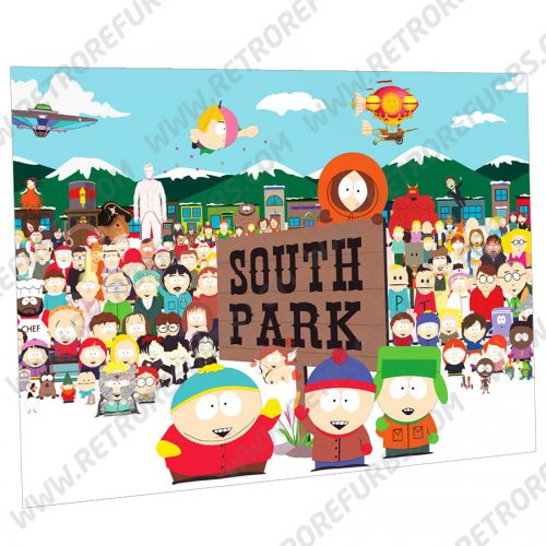 South Park Show Alternate Pinball Translite Alternative Flipper Backglass