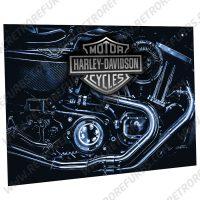 Harley Davidson Engine Alternate Alternate Pinball Translite Alternative Flipper Backglass Stern Sega