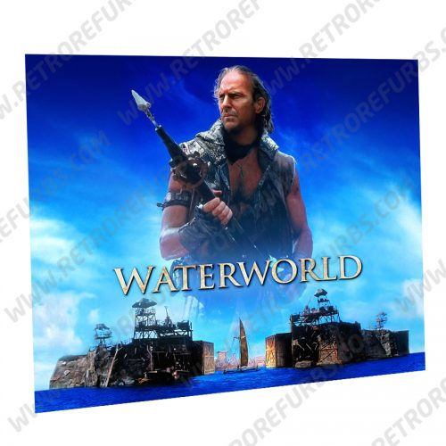 Waterworld Costner Alternate Pinball Translite Alternative Flipper Backglass