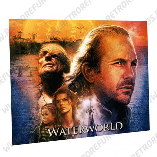 Waterworld Montage Alternate Pinball Translite Alternative Flipper Backglass