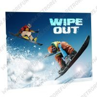 Wipe Out Snowboarding Alternate Pinball Translite Alternative Flipper Backglass