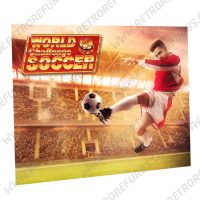 World Challenge Soccer Kick Alternate Pinball Translite Alternative Flipper Backglass