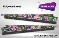 Hollywood Heat Pinball Sideblades Inside Inner Art Decals Sideboard Art Pin Blades