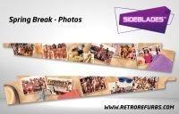Spring Break Photos Pinball Sideblades Inside Inner Art Decals Sideboard Art Pin Blades