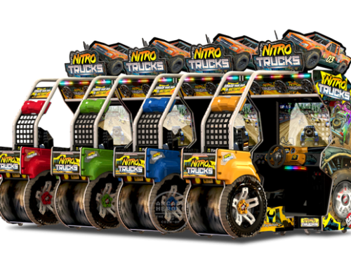 Raw Thrills Releases More Media For Nitro Trucks