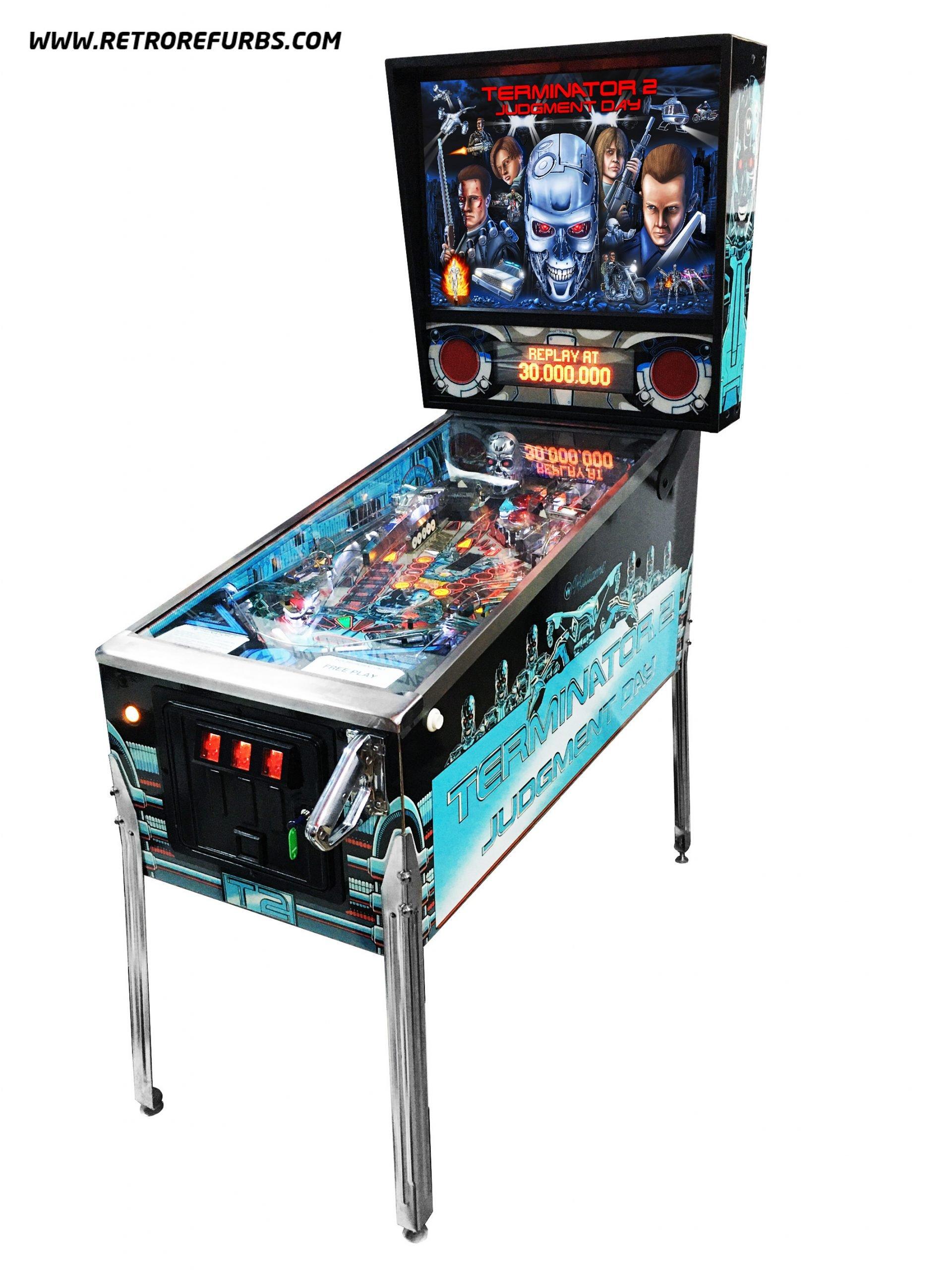 Terminator 2 pinball game slingo casino games