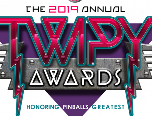 The TWIPY Pinball Awards Results, Percentages, and Honorable Mentions!