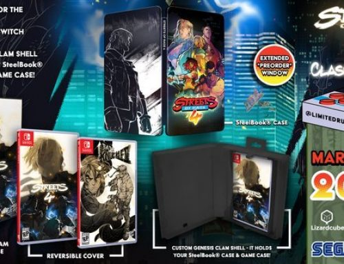 Streets of Rage 4 Physical Edition Revealed!