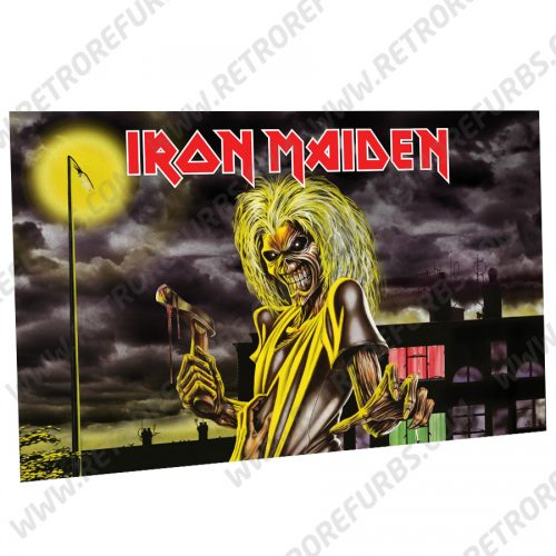 Iron Maiden Killers Alternate Pinball Translite Backglass Flipper Display by Retro Refurbs