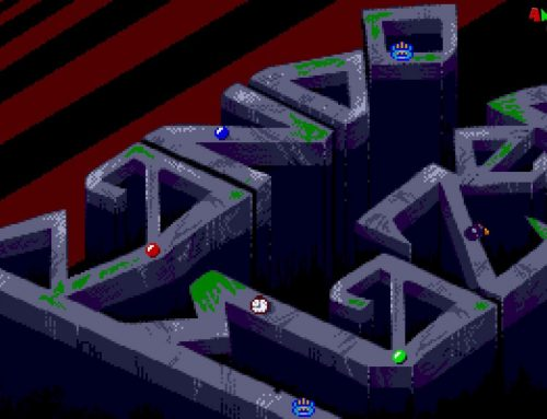 RandoMaZer Is A New Marble Maze Game For the Atari ST