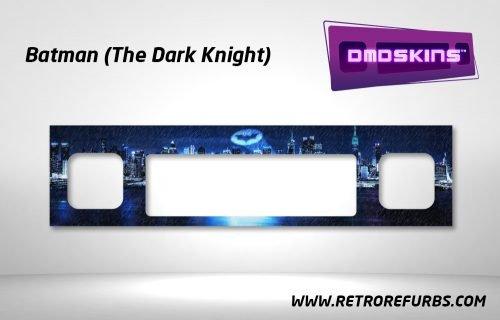 Batman The Dark Knight Pinball DMDSkin Speaker Panel Overlay DMD Artwork Decal