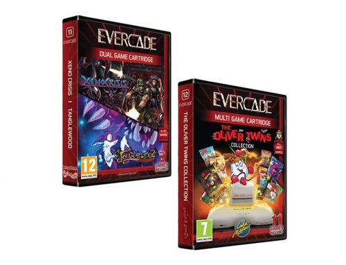 Pre-Orders for 2 New Evercade cartridges open NOW!