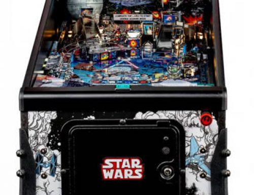 STAR WARS COMIC ART PIN LAUNCHED