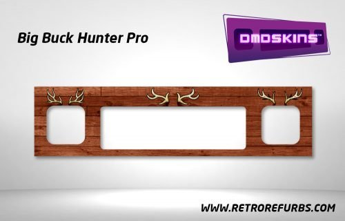 Big Buck Hunter Pro Pinball DMDSkin Speaker Panel Overlay DMD Artwork Decal