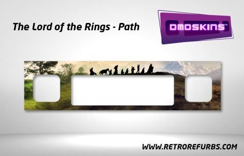Lord of the Rings Path Pinball DMDSkin Speaker Panel Overlay DMD Artwork Decal