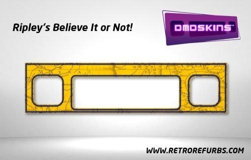Ripley's Believe It or Not Pinball DMDSkin Speaker Panel Overlay DMD Artwork Decal