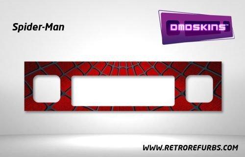 Spider-Man Pinball DMDSkin Speaker Panel Overlay DMD Artwork Decal