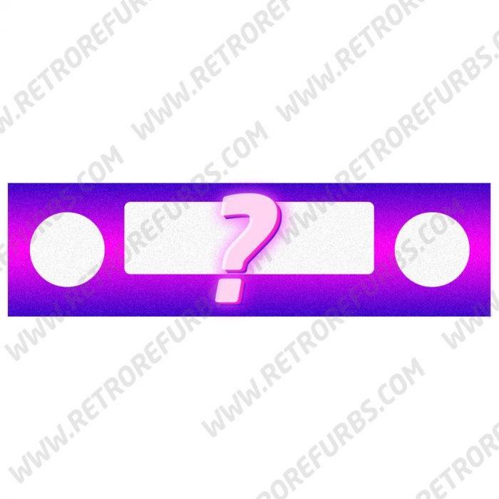 Custom Artwork Printing Pinball DMD Skin Speaker Panel by Retro Refurbs