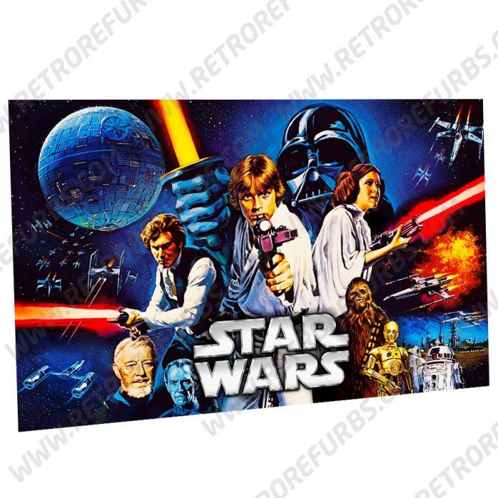 Stern Star Wars Alternate Pinball Translite Backglass Flipper Display by Retro Refurbs