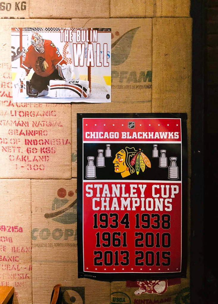 Not forgetting the Chicago Blackhawks' Stanley Cup victories