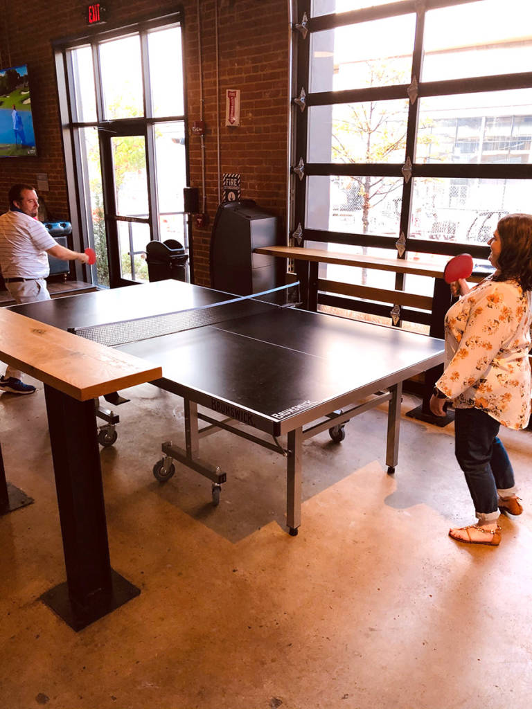 Table Tennis is available to play too