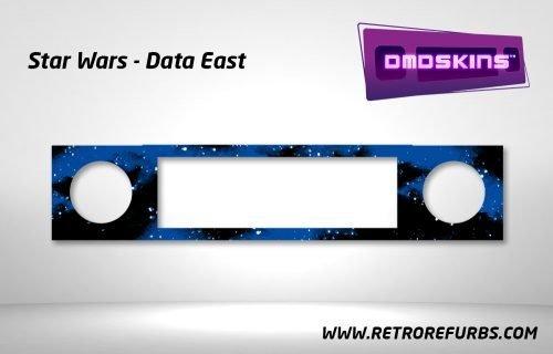 Star Wars Data East Pinball DMDSkin Speaker Panel Overlay DMD Artwork Decal
