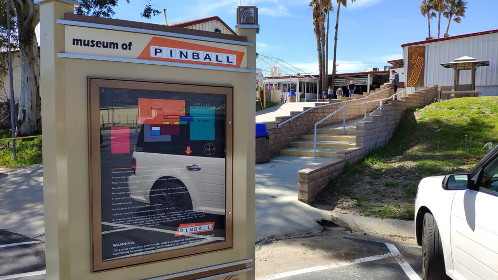 The Museum of Pinball in Banning