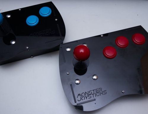 Beyond the Scanlines checks out Monster Joysticks' Mega Drive and PC Engine offerings