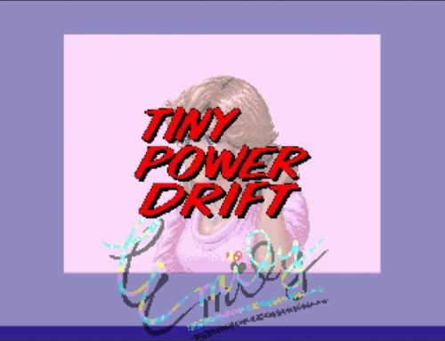 Tiny Power Drift is a loving homage to Sega's classic racers