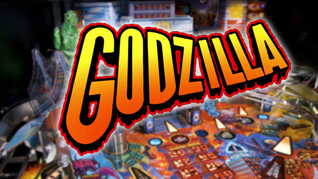 The new Godzilla game from Stern Pinball