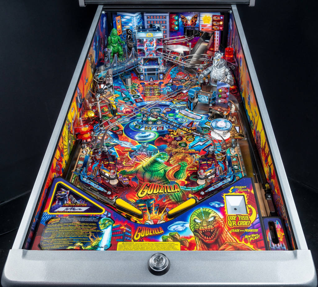 The playfield in the Limited Edition