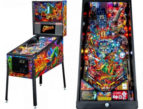 Stern's Godzilla Pinball To Invade Arcades This Fall