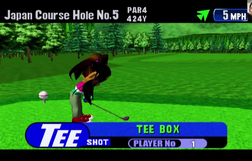 Tee Off for Dreamcast