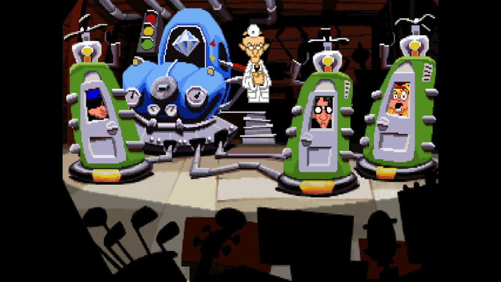 Best LucasArts adventures: Day of the Tentacle
