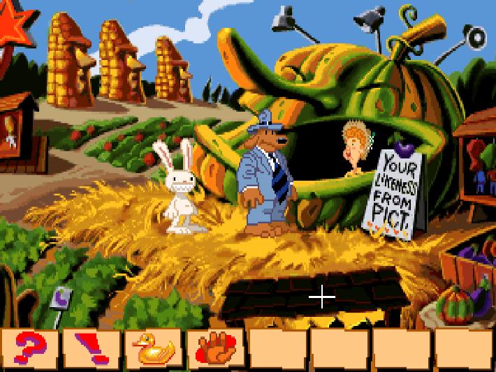 Best LucasArts adventures: Sam & Max Hit the Road