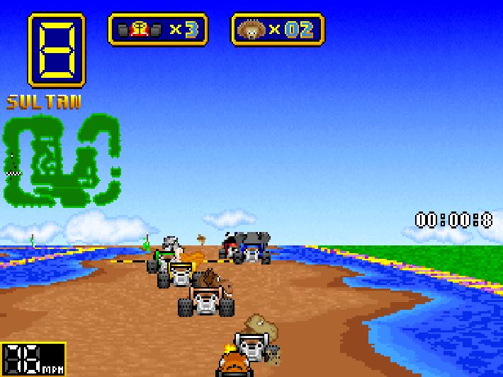 Best shareware games: Wacky Wheels