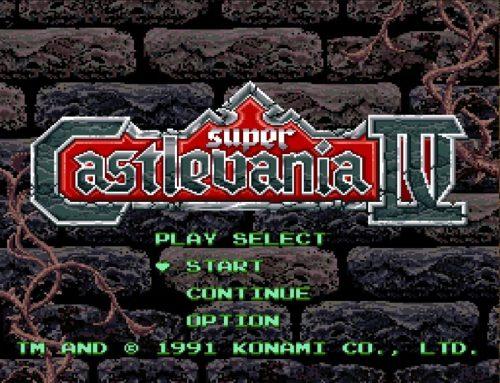 Super Castlevania IV is the quintessential SNES game